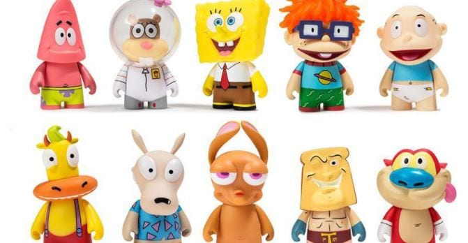 nickelodeon_figuren 90s Nickelodeon Figuren