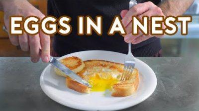 """""""Eggs in a Nest"""" aus Friends, Frasier & Co. nachgekocht"""
