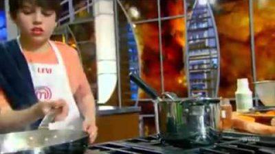 Gordon Ramsey beschimpft kleine Kinder-Köche