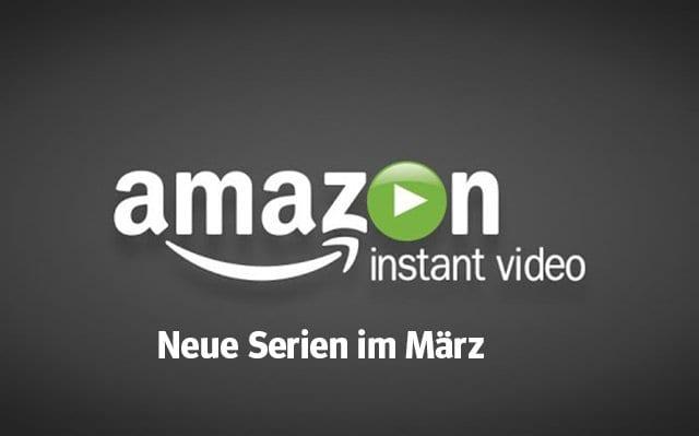 Amazon: Die neuen Serien(-Staffeln) im März