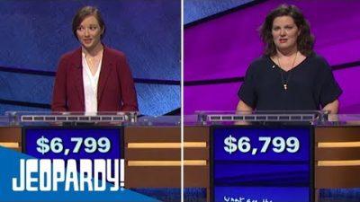 Erster Gleichstand der Jeopardy-Geschichte