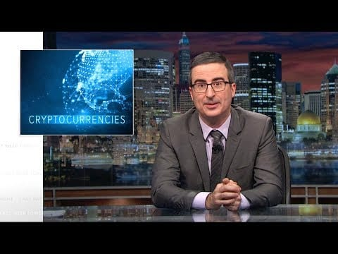 Last Week Tonight with John Oliver: Cryptocurrencies