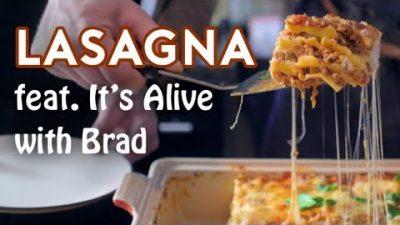 Garfields Lasagne nachgekocht