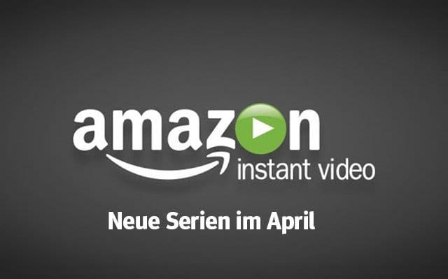 Amazon: Die neuen Serien(-Staffeln) im April 2018