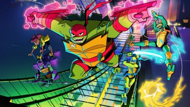 Rise of the Teenage Mutant Ninja Turtles: Trailer zur neuen Zeichentrick-Serie