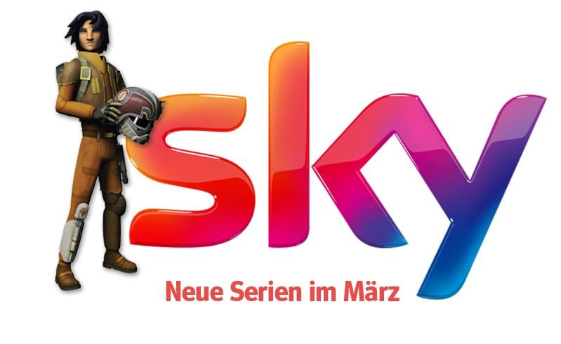 Sky: Die neuen Serien(-Staffeln) im März