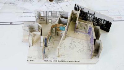 So wurde die Friends-Wohnung entworfen