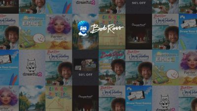 The Humble Bob Ross Bundle
