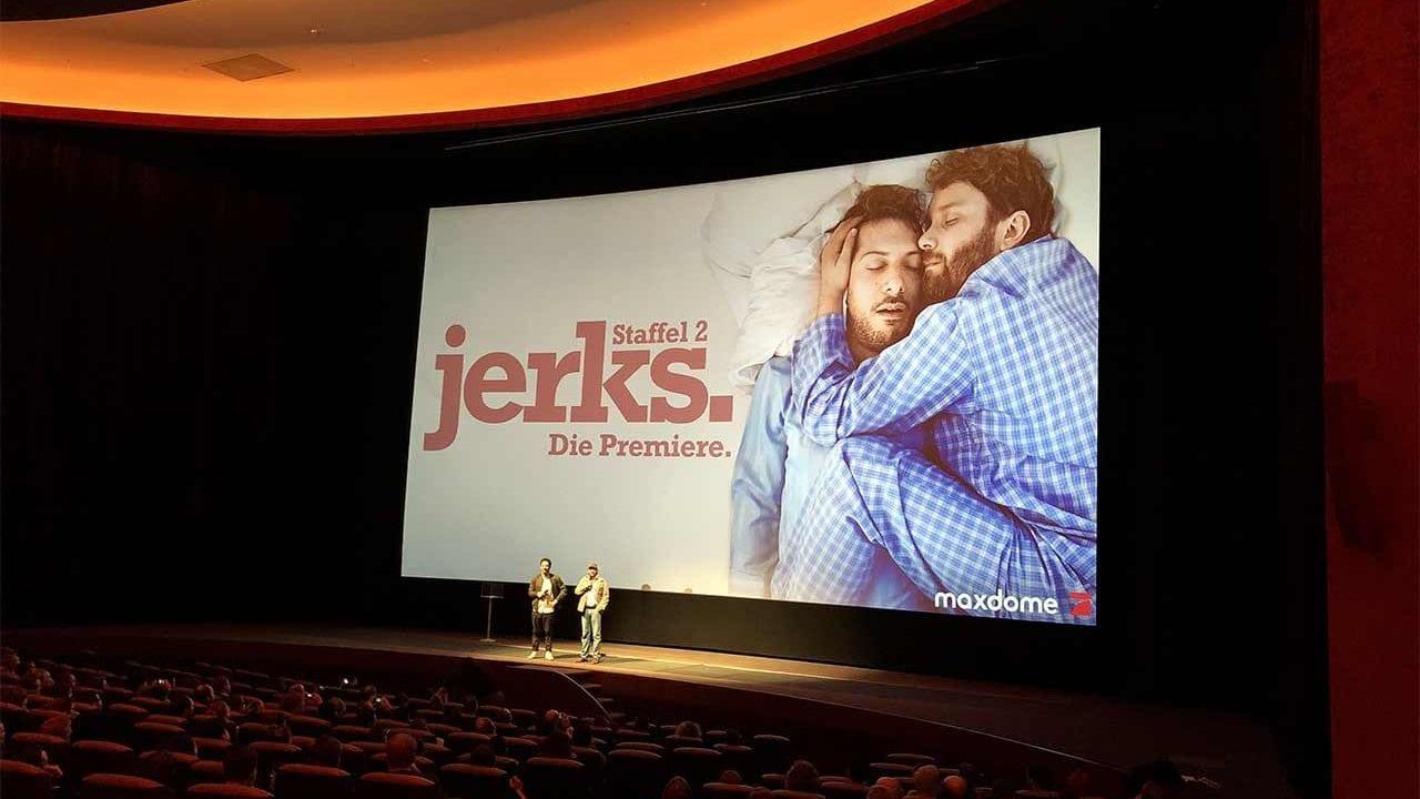 """Wir waren bei der Vorpremiere der 2. Staffel """"jerks."""""""