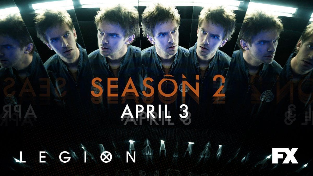 LEGION Staffel 2 ab April 2018