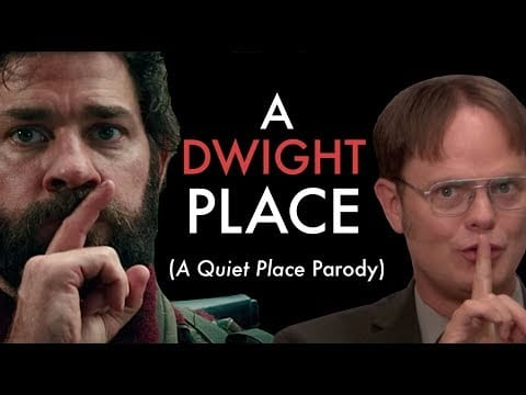 "Aus ""A Quiet Place"" wird ""A Dwight Place"""