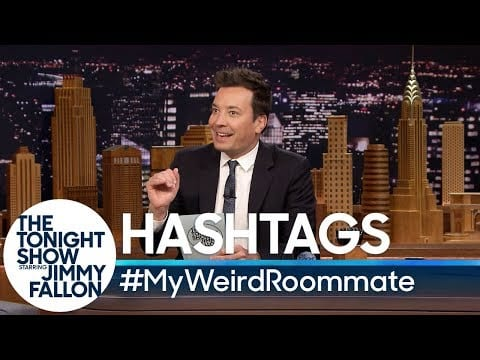 Tonight Show: #MyWeirdRoommate