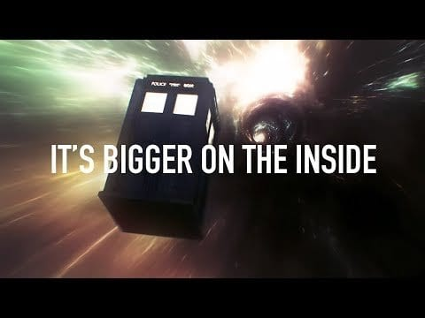 Doctor Who Supercut: Bigger On The Inside