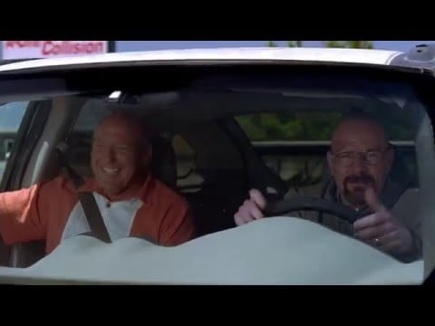 Breaking Bad Supercut: Hank lacht