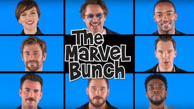 Die Avengers parodieren einen Serienklassiker!