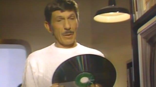 Leonard Nimoy macht Werbung für LaserDisc