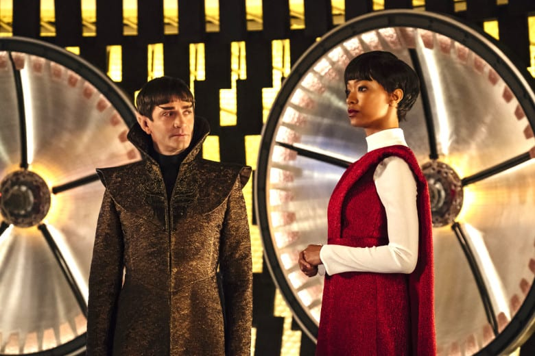 sarek-michael-discovery Captain Pike und Spock entern Star Trek: Discovery Staffel 2