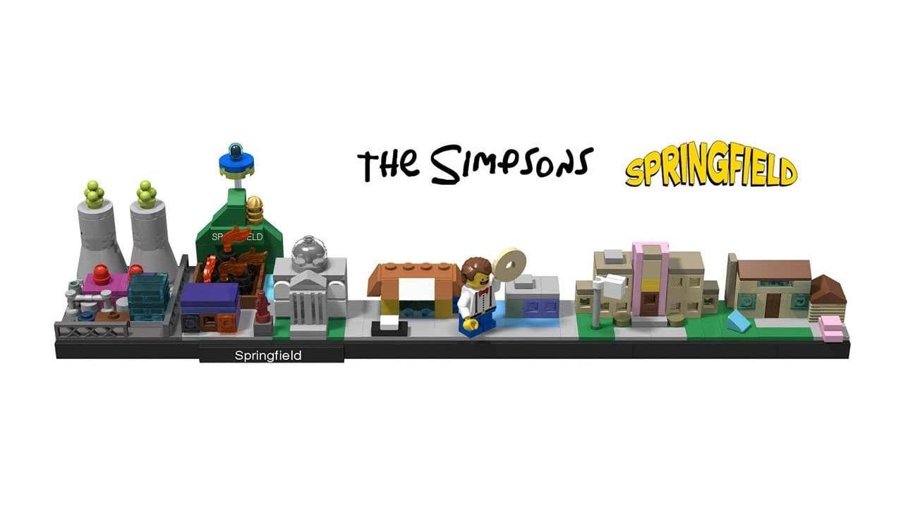 Springfield als Mini-LEGO-Set