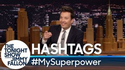 Tonight Show: #MySuperpower