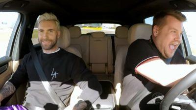 Carpool Karaoke mit Adam Levine