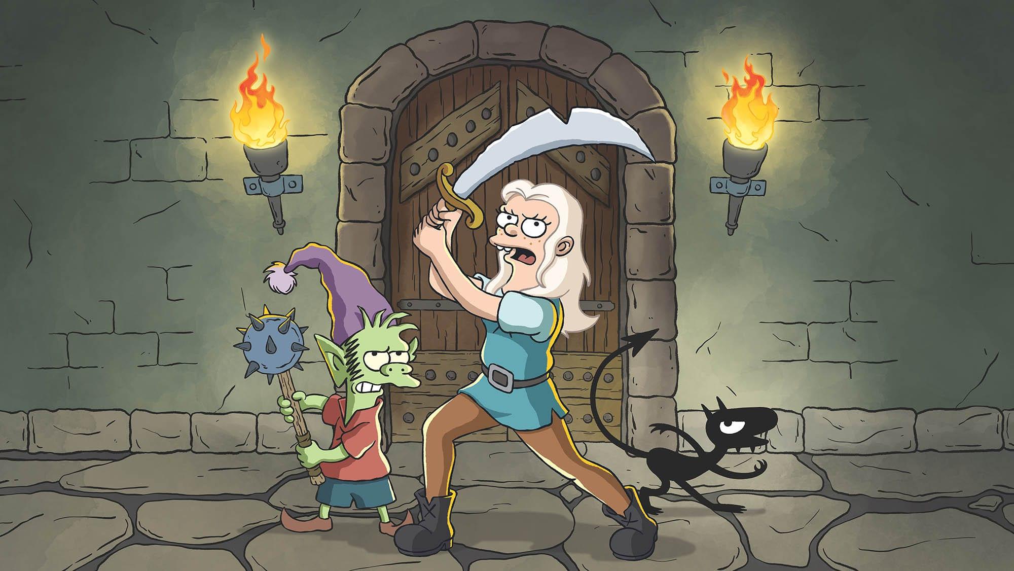 Disenchantment-01 Netflix: Erste Bilder zu Matt Groenings Disenchantment
