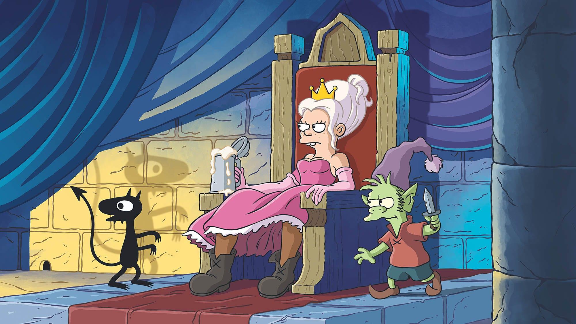 Disenchantment-03 Netflix: Erste Bilder zu Matt Groenings Disenchantment