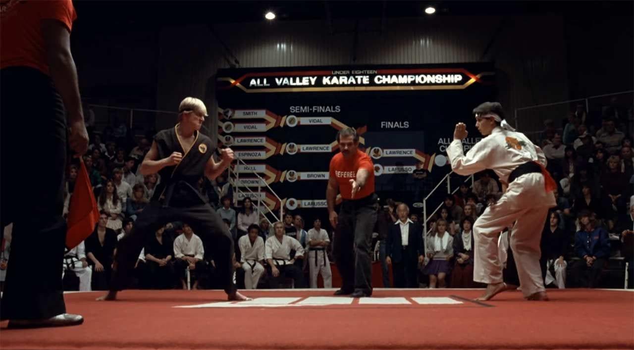 """Die erste Folge der Karate Kid-Serie """"Cobra Kai"""" ist online"""