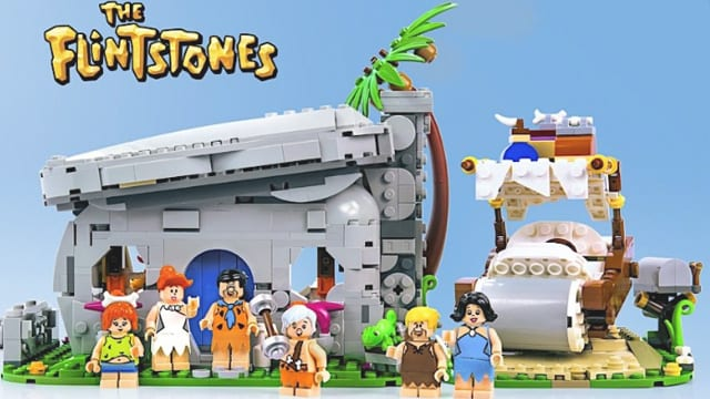 Familie Feuerstein als Lego-Set