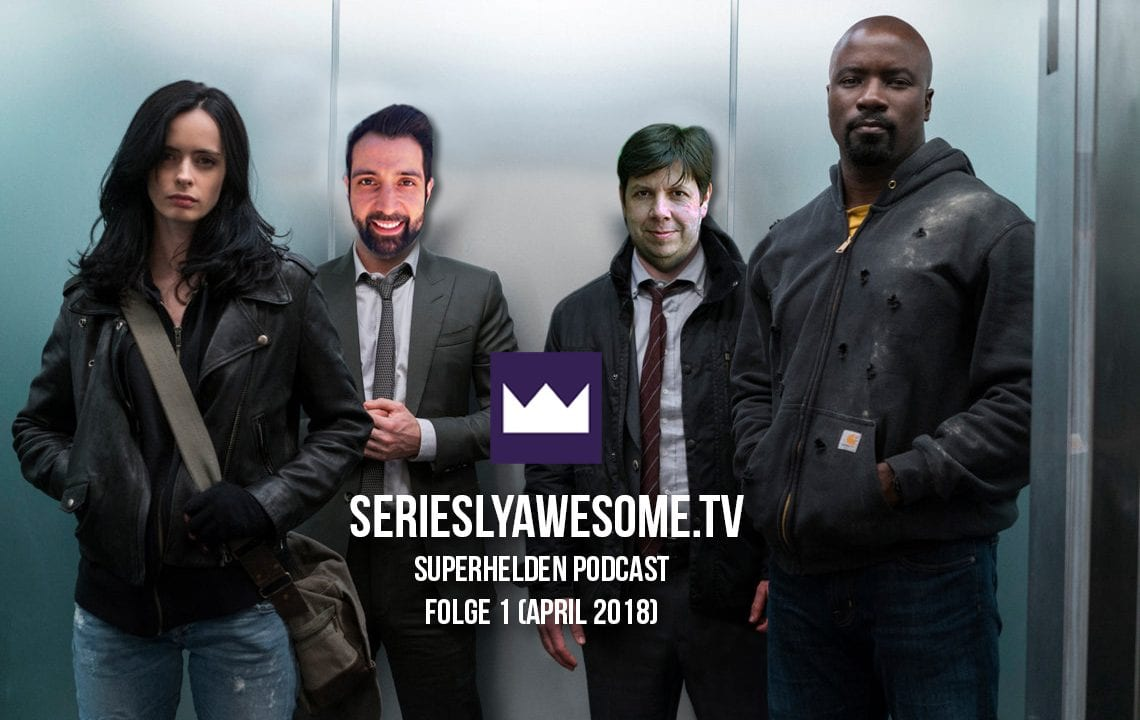 Premiere für den sAWE.tv Superhelden-Podcast