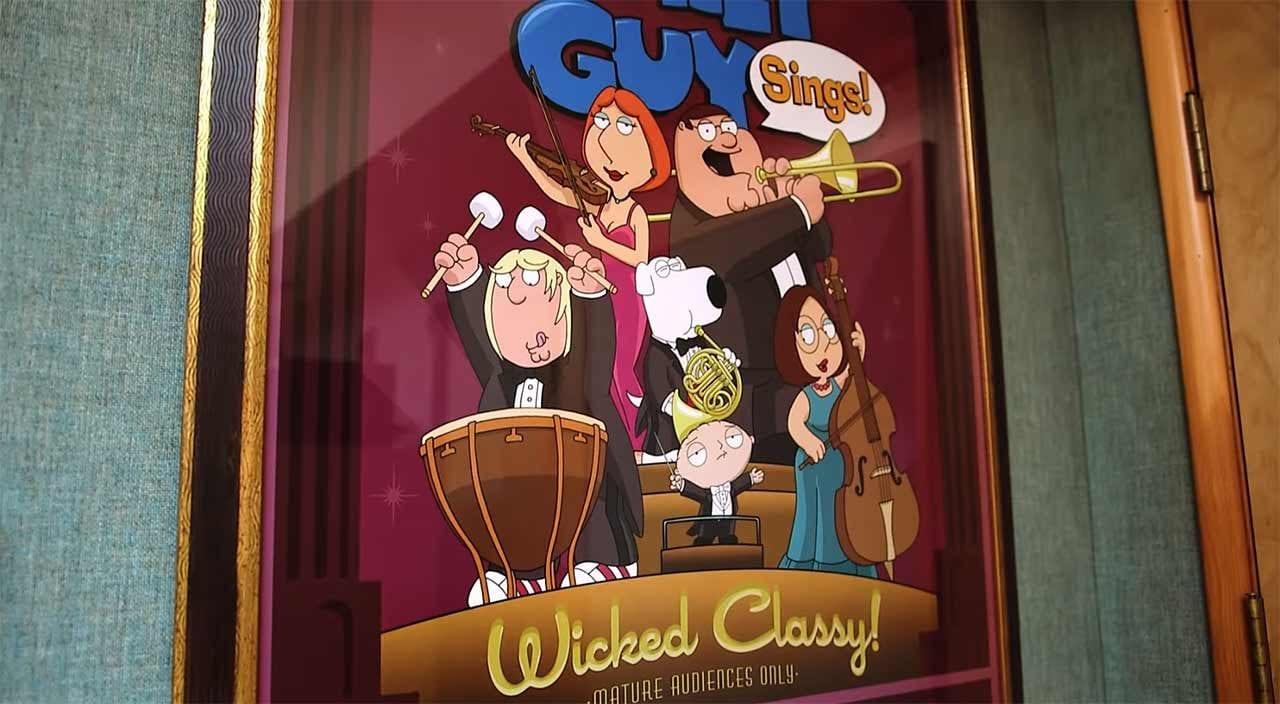 So entsteht der Soundtrack von Family Guy