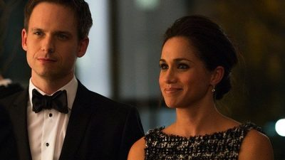 Suits-Cast bei der Royal Wedding