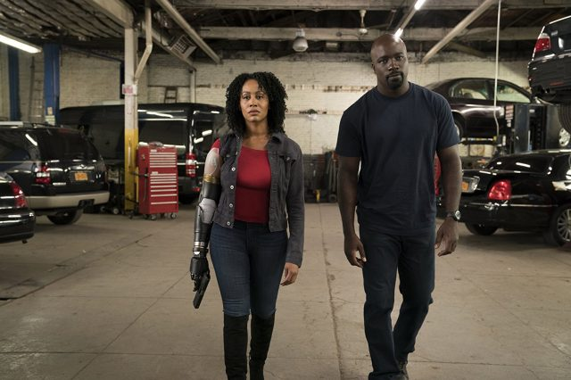Luke Cage Misty Knight