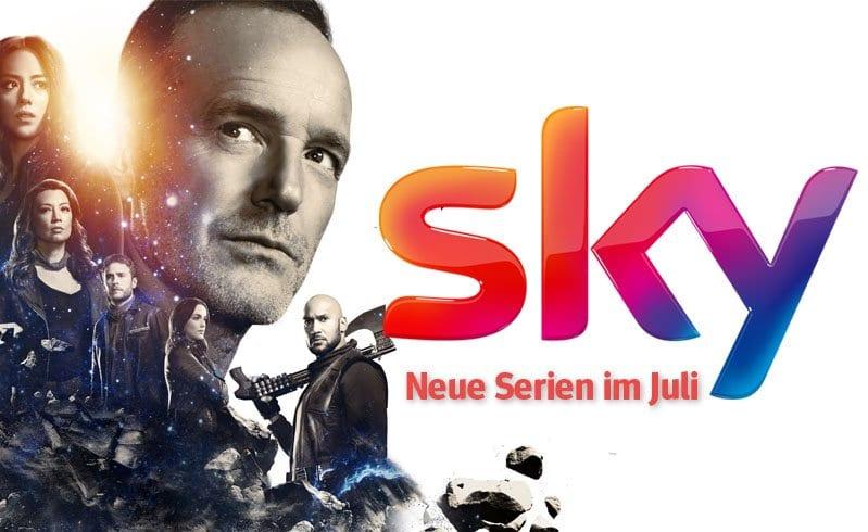 Sky: Die neuen Serien(-Staffeln) im Juli 2018