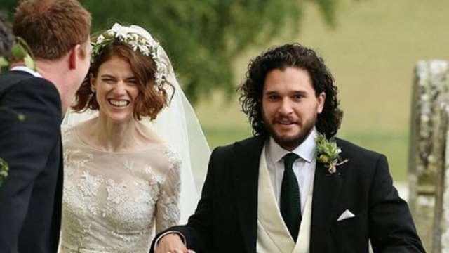 Fotos: Kit Harington und Rose Leslie haben geheiratet