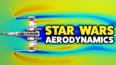 Wie aerodynamisch sind Star Wars Raumschiffe?