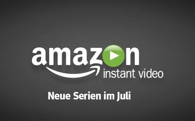 Amazon Prime: Die neuen Serien(-Staffeln) im Juli 2018