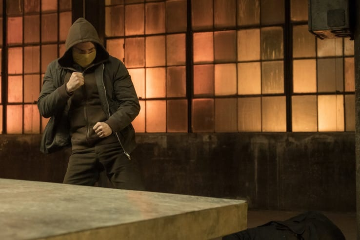 Marvel's Iron Fist Season 2 Danny Rand masked