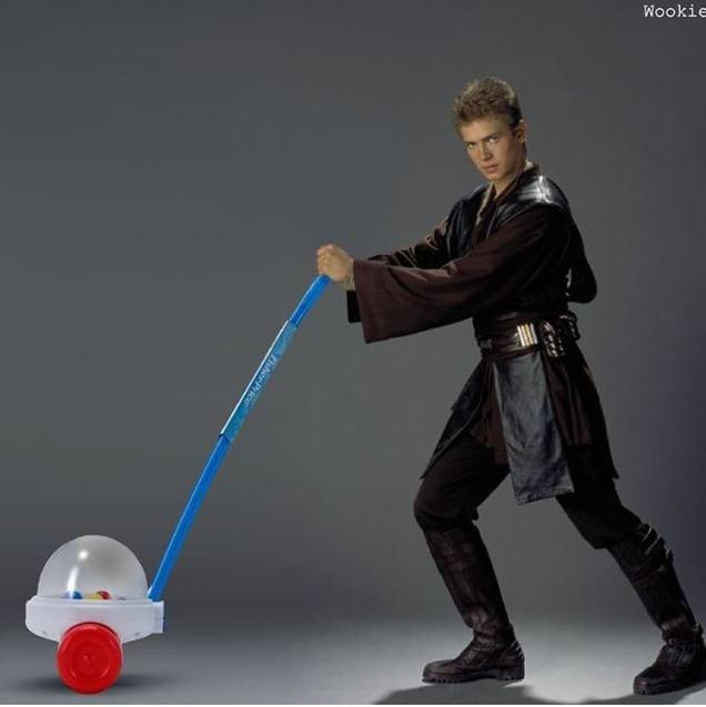 anakin_1 Bilder: So habt ihr Star Wars noch nicht gesehen