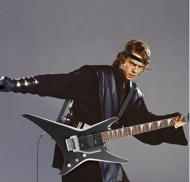 anakin_rock_star Bilder: So habt ihr Star Wars noch nicht gesehen
