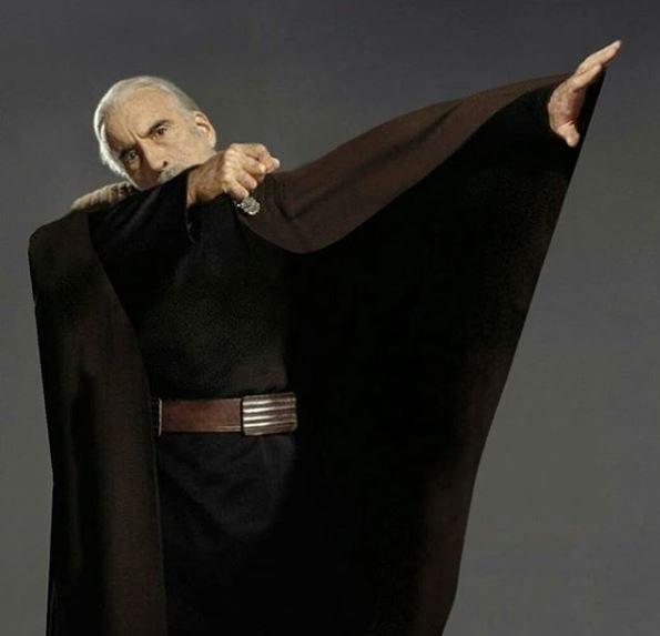 dooku-winning Bilder: So habt ihr Star Wars noch nicht gesehen