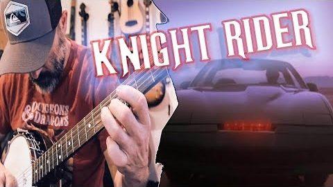 Das Knight Rider-Theme mit Banjo und Akkordeon