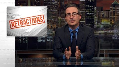 Last Week Tonight with John Oliver: Retraction (Web Exclusive