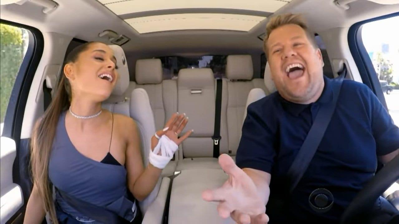 Carpool Karaoke mit Ariana Grande