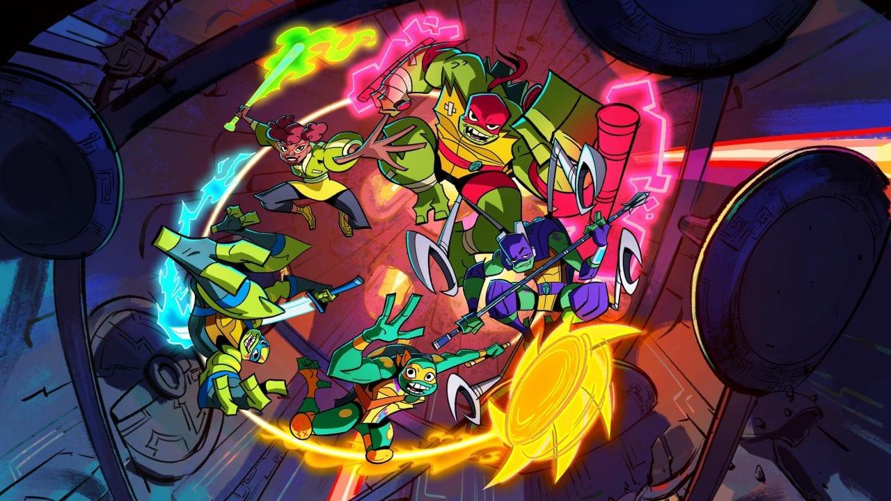 Komplette erste Folge zur neuen TURTLES Zeichentrickserie!