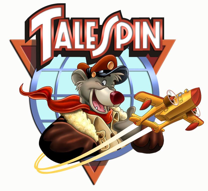Talespin_logo Wer DUCKTALES schaut, mag auch…