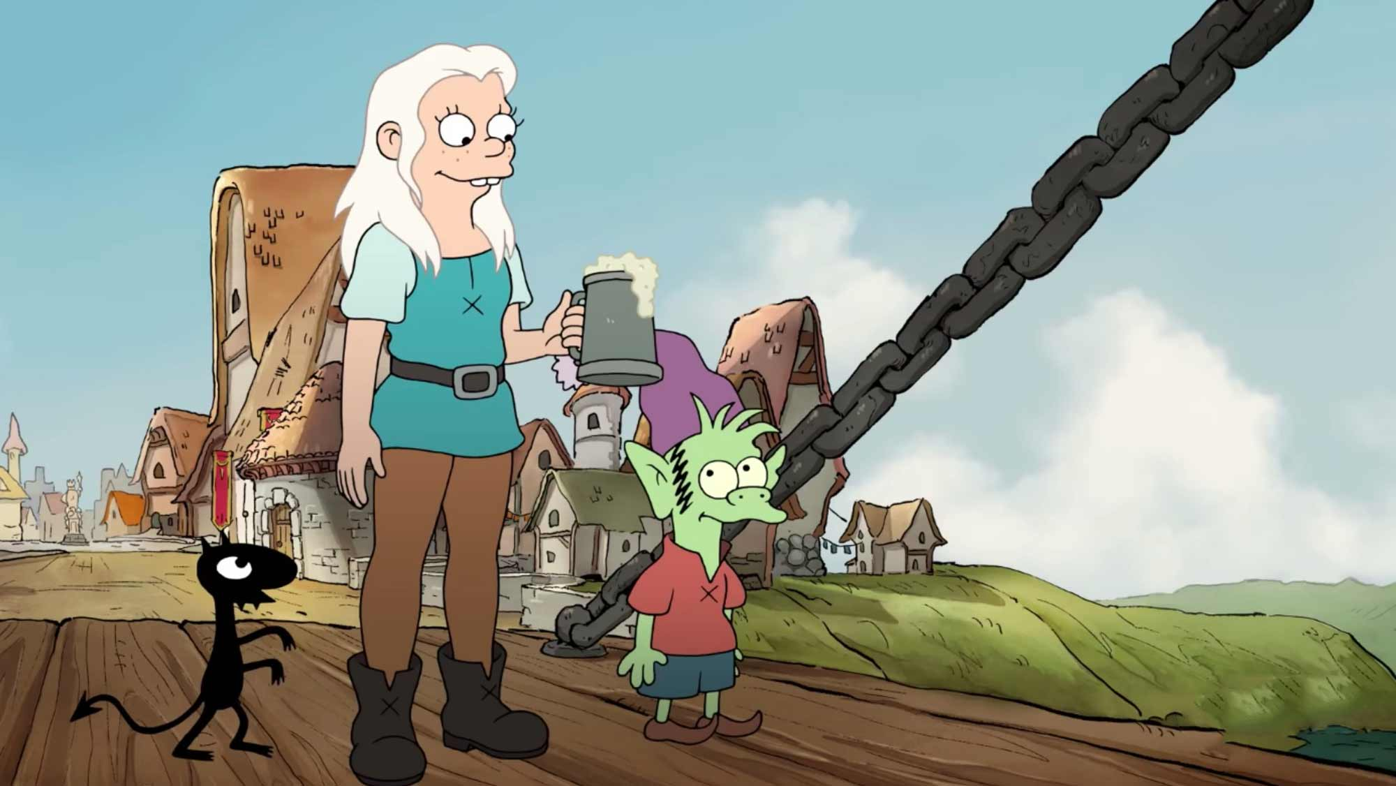Review: Disenchantment S01E01 (Staffelstart)