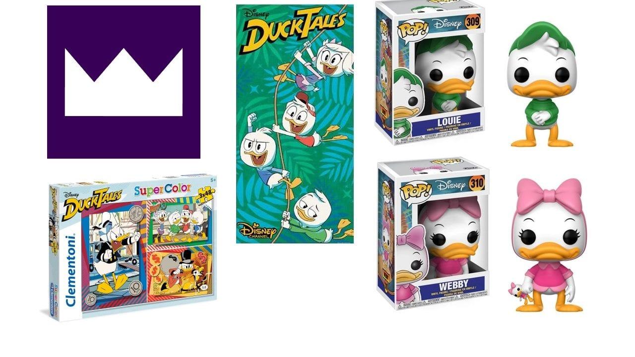"""Zum Start im Disney-Channel: """"DuckTales"""" Paket zu gewinnen"""