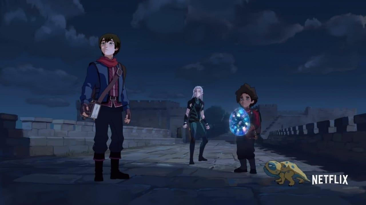 Trailer zur neuen Zeichentrick-Serie Der Prinz der Drachen