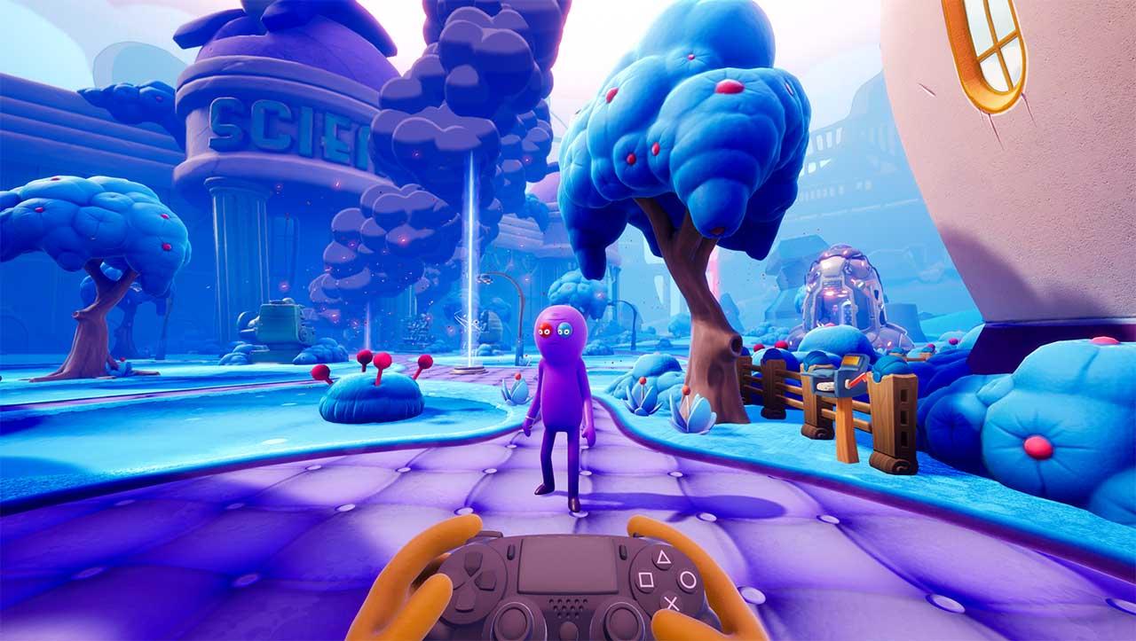 Trovers-Saves-The-Universe Spiel von Rick & Morty-Schöpfer Justin Roiland
