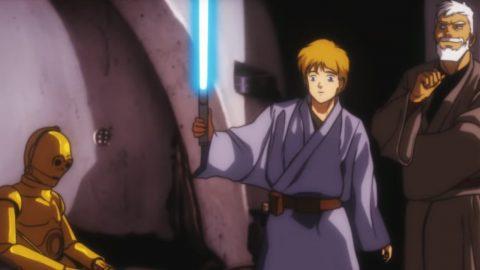 Star Wars IV Anime-Trailer